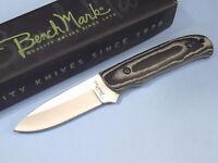 "BenchMark BMK025 Black & Gray Micarta full tang blade knife 7 1/2"" overall NEW!"