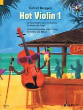 Hot Violin 1 20 Easy Pop Pieces in 1st position Violin and Piano 049045893