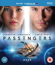 Passengers Blu-ray 2017 Jennifer Lawrence Chris Pratt