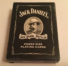 JACK DANIELS POKER SIZE PLAYING CARDS