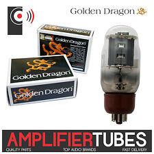 KT66 Retro GOLDEN DRAGON Amplifier POWER Tubes (SINGLE Valve Matched PAIR & QUAD