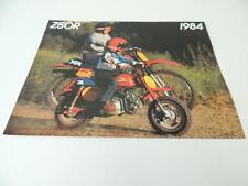 NOS 1984 Honda Dealer Brochure Z50R Z50 L168