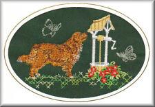 Nova Scotia Duck Tolling Retriever Birthday Card Embroidered by Dogmania