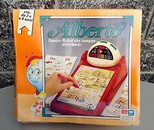 Eg Vintage Console Robot Alberto L'amico Robot Che Insegna Nib Rare