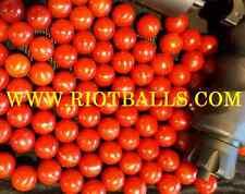 200 X .68 Cal. PVC/Nylon Riot Balls Self Defense Target Practice Paintball RED