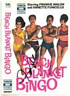 Frankie Avalon Signed 1965 Beach Blanket Bingo Vhs Video/movie Cover- Jsa