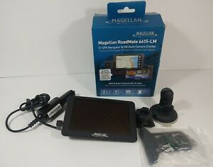 """Magellan Roadmate 6615-LM 5"""" GPS Navigator & HD Dash Camera Combo"""