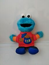 Hasbro Sesame Street Talking 123 Counting Cookie Monster Stuffed Toy Plush