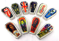 Coffin Tobacco Cigarette Tin Metal Case Che Guevara London Gothic Souvenir Tins