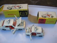 DINKY 250 255 POLICE ORIGINAL DINKY TOYS EXCELLENT FOR AGES IN ORIGINAL BOXES