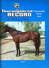 The Thoroughbred Record April 10 1971 Horses Magazine Personality Cover