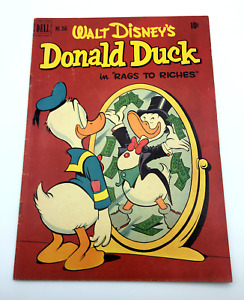 Walt Disney's Donald Duck ~ Four Color #356 (1951)  Cover CARL BARKS!