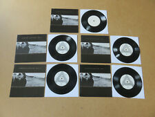 "U2 Album Sampler 1-5 Joshua Tree Collection 5x 7"" RARE MISPRINT LABEL PROMO SET"