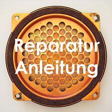 50s Röhren Radio Tefifon Elektrostatische E-Staten Hochtöner Lautsprecher Repair