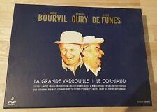 DELUXEBOX SET LE CORNIAUD AND LA GRANDE VADROUILLE LOUIS DE FUNES - BOURVIL