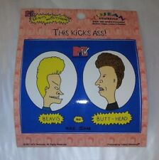 "4.5"" Vinyl BEAVIS & BUTT-HEAD This Kicks A**  Sticker NEW!!! MTV Mike Judge"