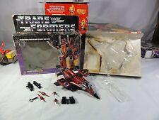 Transformers Generation One Decepticon Thrust Complete in Box Mib #4