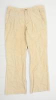 BZR Mens Beige Corduroy Trousers Size W34/L30