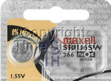 Maxell 366 SR1116SW SR116 V538 D366 608 Battery ( 1 PC )