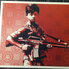 SHEPARD FAIREY ' DUALITY of HUMANITY 4'  LIMITED EDITION PRINT (Banksy)