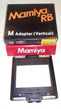 Mamiya Rb M Adapter ( Vertical Adapter )