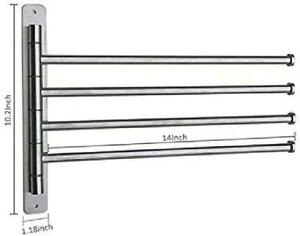 Wall Mounted Vertical Tower Rail Towel Racks For Sale Ebay