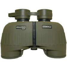 Steiner military + azul marino 10x50 prismáticos BINOCULARS caza Bundeswehr bolsa verde oliva