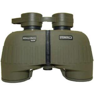 Steiner Military + Marine 10x50 Fernglas Binoculars Jagd Bundeswehr Oliv Tasche