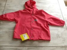 "Imperméable fille rose ""RUKKA"" NEUF Taille 2 ans"