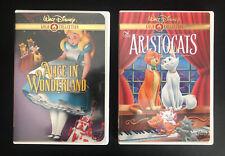 Walt Disney Gold Classic Collection DVD Lot Of 2, VGC w/Insert!