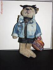 NEW Brass Button Bear 1980's Roxy