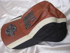 Harley Davidson Motorcycle Leather Hat Baseball Cap USA Biker Riding Topper 1sz