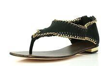 Klub Nico JORDAN Black Suede T-Strap Sandals 7324 Size 11 M NEW!