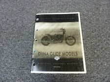 1999 Harley Davidson Dyna Low Rider Convertible Motorcycle Parts Catalog Manual