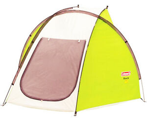 Coleman Beach Shade Canopy Tent Wind SunShade Camping Cabana NEW + Carry Bag