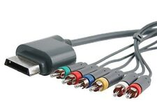 Component HDTV (HD) Video & RCA Stereo AV Cable Optical Audio Out For Xbox 360