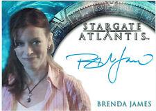 Stargate Atlantis Season 3 & 4 Autograph Card Brenda James as Dr. Katie Brown