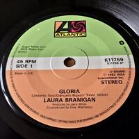 "Laura Branigan ~ Gloria / I Wish We Could (Atlantic K11759) 1982 1st UK 7"" Vinyl"