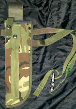 BRITISH ARMY JUNGLE KNIFE SHEATH DPM, SUPERGRADE scabbard, machete, PLCE, bag