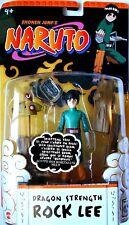 NARUTO DRAGON STRENGTH ROCK LEE  J8463 Mattel 2006