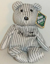1998 Salvino'S Bammers Tino Martinez Bean Bag Plush Bear - New With Tag