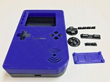 PiGRRL 2 Blue/Grey Game Boy Case & Buttons for Raspberry Pi 2/3. UK. Free Post