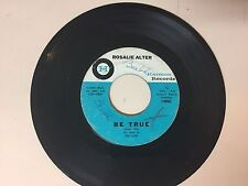 NORTHERN SOUL 45 RPM RECORD - ROSALIE ALTER - HARMON RECORDS 1006