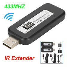 Wireless IR Extender Infrared Remote Control Repeater USB Receiver + Transmitter