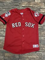 Boston Red Sox Coco Crisp Jersey Sz Youth M Or Womens XS Majestic Red Nice!