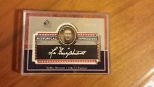 Gabby Hartnett Historical impressions 148/ 350- Upper Deck- Chicago Cubs