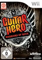 Nintendo Wii Spiel - Guitar Hero 6: Warriors of Rock nur Software mit OVP