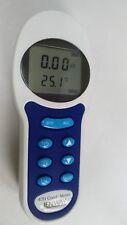 Medidor de conductividad TDS salinidad temperatura portátil Jenway 470 pruebas de laboratorio