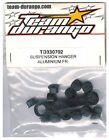 RC Team Durango TD330702 Suspension Hanger Aluminum DEX8 DNX8 DEX8T DESC10 Buggy