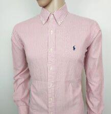 Ralph Lauren Mens Shirt Custom Fit Oxford University Stripe 16.5 - 42cm RRP£125